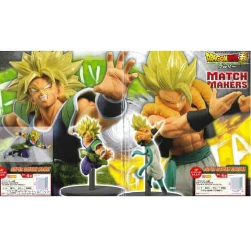 MATCH MAKERS BROLY GOGETA DRAGON BALL SUPER