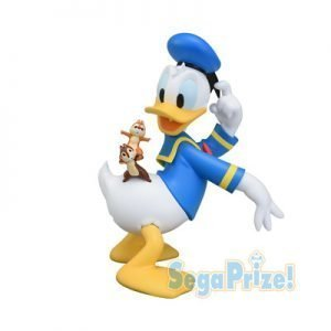 SEGA PRIZE DONALD DUCK CHIP AND DALE SPM FIGURE DISNEY