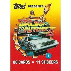 TOPPS BACK TO THE FUTURE BOITE DE 36 BOOSTERS