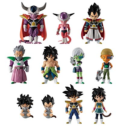 ADVERGE DRAGON BALL SUPER BROLY (set de 11 figurines)