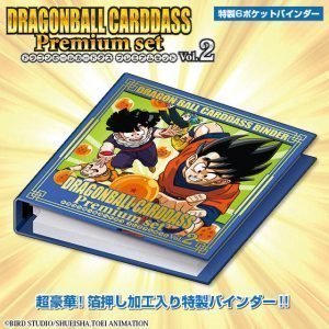 CARDDASS PREMIUM SET VOL.2 DRAGON BALL BANDAI PREMIUM 5