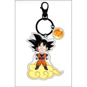 EASY CARD PORTE CLÉS DRAGON BALL Z GOKU KEYCHAIN
