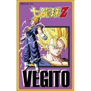 EASY CARD VEGETO SSJ DRAGON BALL Z VEGITO