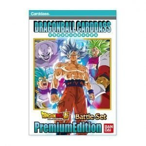 CARDDASS BATTLE SET PREMIUM EDITION DRAGON BALL SUPER