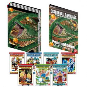 CARDDASS DX SET PREMIUM EDITION DRAGON BALL BANDAI