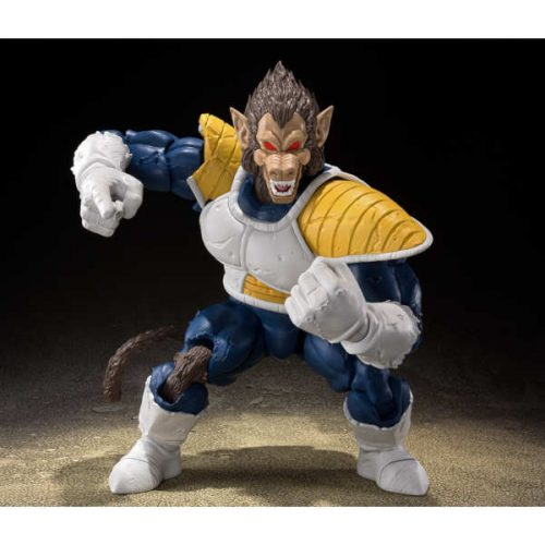 SH FIGUARTS OOZARU VEGETA GREAT APE DRAGON BALL BANDAI 2