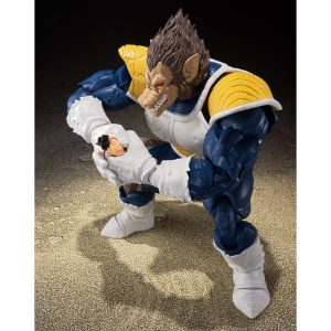 SH FIGUARTS OOZARU VEGETA GREAT APE DRAGON BALL BANDAI 8