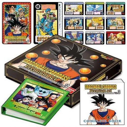 CARDDASS PREMIUM SET VOL.3 DRAGON BALL BANDAI PREMIUM