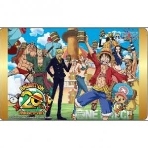 EASY CARD ONE PIECE 20TH ANNIVERSARY TOEI