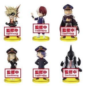 WCF MY HERO ACADEMIA VOL.8 BANPRESTO SET DE 6 FIGURINES