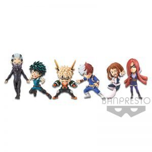 WCF THE MOVIE HERO RISING MY HERO ACADEMIA BANPRESTO