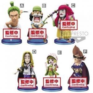 WCF WANOKUNI VOL.4 ONE PIECE BANPRESTO