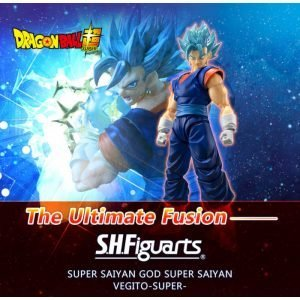SH FIGUARTS VEGITO SSJ BLUE DRAGON BALL SUPER BANDAI