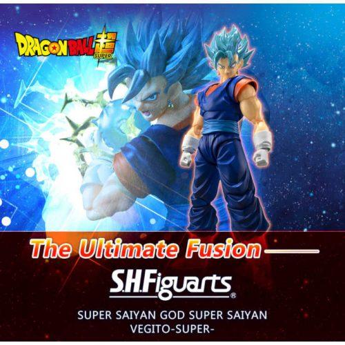 SH FIGUARTS VEGITO SSJ BLUE DRAGON BALL SUPER BANDAI