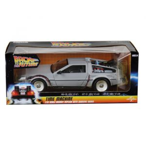 NECA DELOREAN TIME MACHINE BACK TO THE FUTURE DIE CAST
