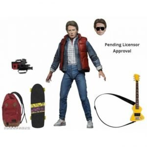 NECA MARTY MCFLY 1985 BACK TO THE FUTURE ACTION FIGURE