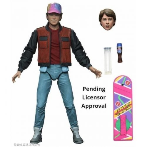 NECA MARTY MCFLY 2015 BACK TO THE FUTURE ACTION FIGURE