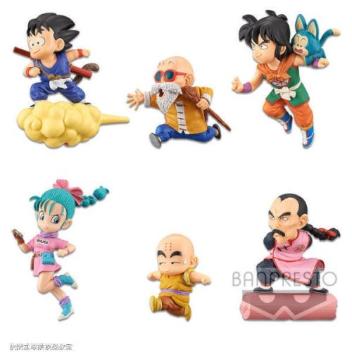 FIGURINES DRAGONBALL 30TH ANNIVERSARY WCF VOL.1