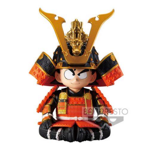 FIGURINE GOKU JAPANESE ARMOR HELMET DRAGON BALL