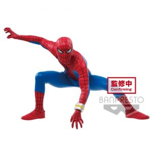 FIGURINE SPIDER MAN BANPRESTO MARVEL COMIC BANDAI
