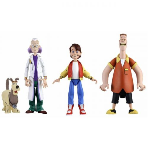 FIGURINES NECA ANIMATED SERIE BACK TO THE FUTURE