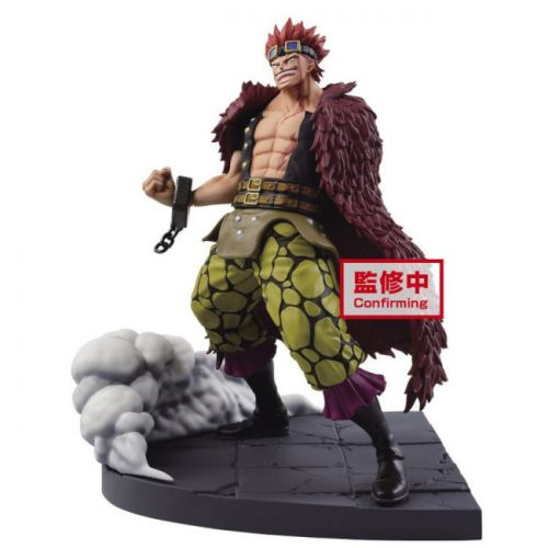 FIGURINE EUSTASS KID LOG FILE SELECTION ONE PIECE BANPRESTO WORST GENERATION