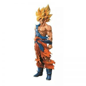 FIGURINE MANGA DIMENSIONS GOKU SSJ SMSP BANPRESTO DRAGON BALL Z