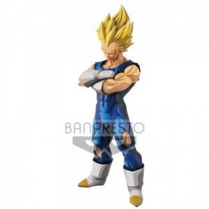 FIGURINE MANGA DIMENSIONS VEGETA SSJ GRANDISTA BANPRESTO RESOLUTION OF SOLDIERS DRAGON BALL Z