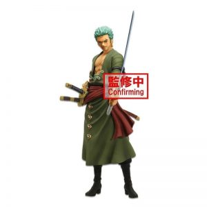 FIGURINE ZORO GRANDISTA NERO ONE PIECE BANPRESTO
