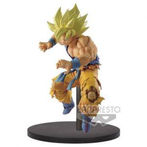 FIGURINE FES GOKU SSJ BANPRESTO DRAGON BALL Z BANDAI