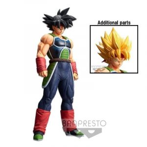 FIGURINE BARDUCK GRANDISTA NERO SSJ BANPRESTO BANDAI DRAGON BALL Z RESOLUTION OF SOLDIERS