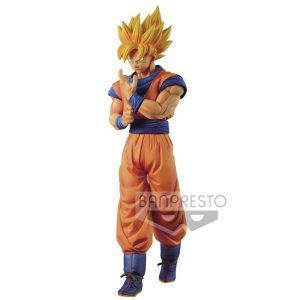 FIGURINE GOKU SSJ SOLID EDGE WORKS BANPRESTO DRAGON BALL Z BANDAI
