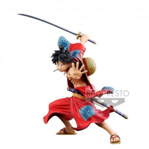 FIGURINE MANGA DIMENSIONS LUFFY EXCLUSIVE BWFC x SMSP MONKEY.D ONE PIECE BANPRESTO BANDAI