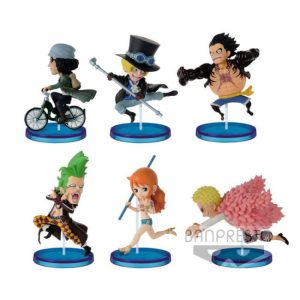 HISTORY RELAY VOL.5 WCF ONE PIECE 20TH BANPRESTO BANDAI FIGURINES WORLD COLLECTABLE FIGURE