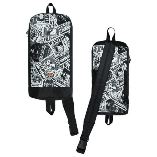 SHOULDER BAG ONE PIECE BLACK AND WHITE MULTIFUNCTION MUSE SAC