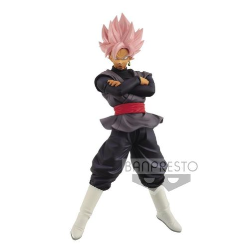 FIGURINE BLACK ROSE RETSUDEN GOKU DRAGON BALL SUPER BANPRESTO BANDAI SUPER WARRIOR CHOUSENSHI RETSUDEN