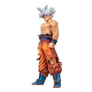 FIGURINE GOKU GRANDISTA MANGA DIMENSIONS ULTRA INSTINCT DRAGON BALL SUPER BANPRESTO BANDAI