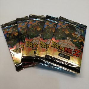 BOOSTER PANINI DRAGON BALL TRADING CARDS 2015 MOVIE COLLECTION TRADING CARD GAME