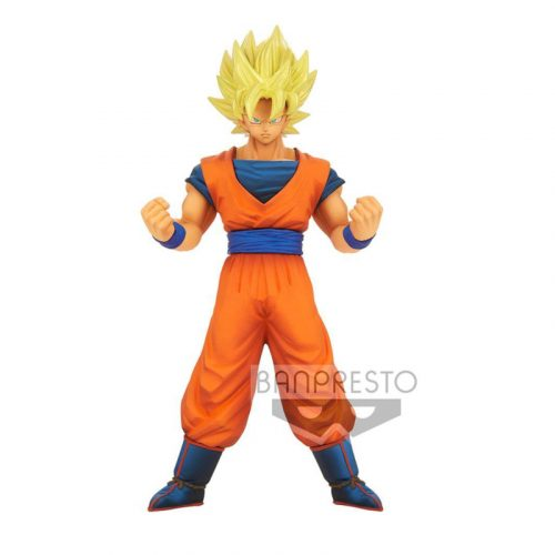 FIGURINE BURNING FIGHTERS GOKU SSJ VOL.1 BANPRESTO BANDAI DRAGON BALL Z