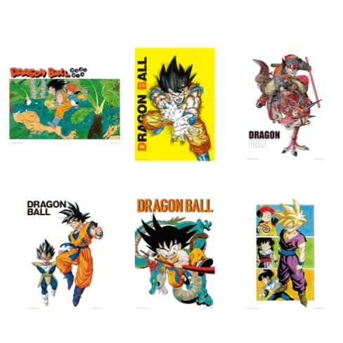 ILLUSTRATION BOARD DECISIVE BATTLE ICHIBAN KUJI DRAGON BALL EX FULL SET WORLD TOURNAMENT SUPER BATTLE BANDAI