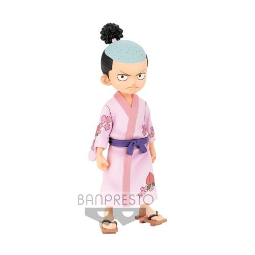 FIGURINE KOUZUKI MOMONOSUKE DXF THE GRANDLINE MEN ONE PIECE WANOKUNI BANDAI VOL.1