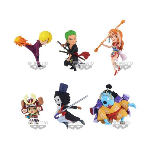 WCF NEW SERIES VOL.1 FIGURINES ONE PIECE BANPRESTO BANDAI WORLD COLLECTABLE FIGURE THE GREAT PIRATES 100 LANDSCAPES