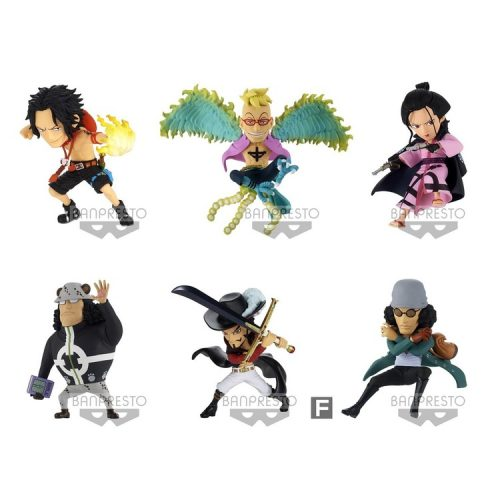 WCF NEW SERIES VOL.3 FIGURINES ONE PIECE BANPRESTO BANDAI WORLD COLLECTABLE FIGURE THE GREAT PIRATES 100 LANDSCAPES