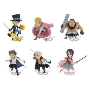 WCF NEW SERIES VOL.4 FIGURINES ONE PIECE BANPRESTO BANDAI WORLD COLLECTABLE FIGURE THE GREAT PIRATES 100 LANDSCAPES